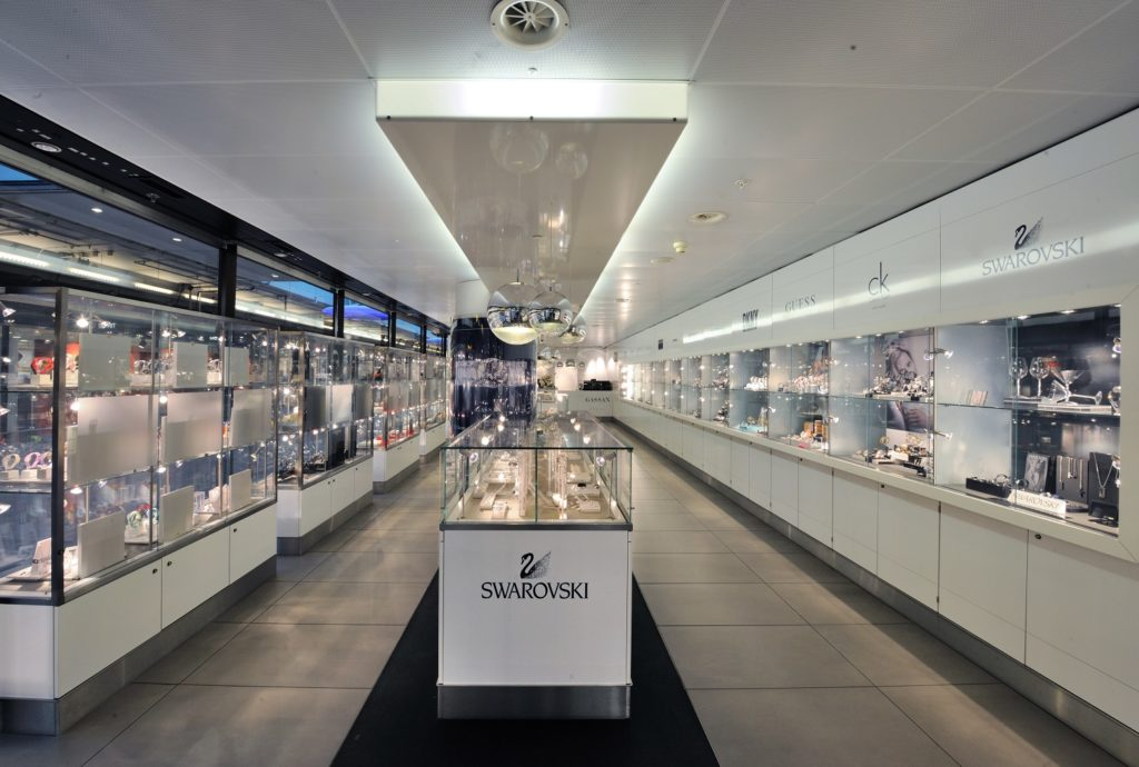 GASSAN Plaza shop before security at Amsterdam Schiphol Airport