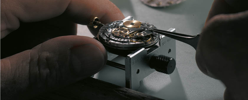 Watch service and repairs