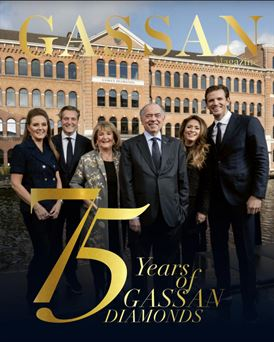 GASSAN Diamonds jubilee 75 years Leeser family